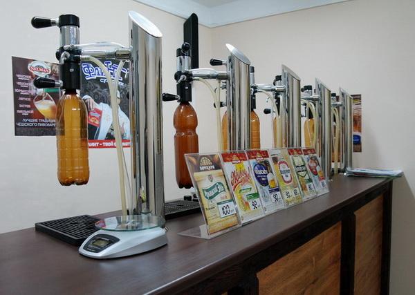 Свой бизнес: магазин живого разливного пива