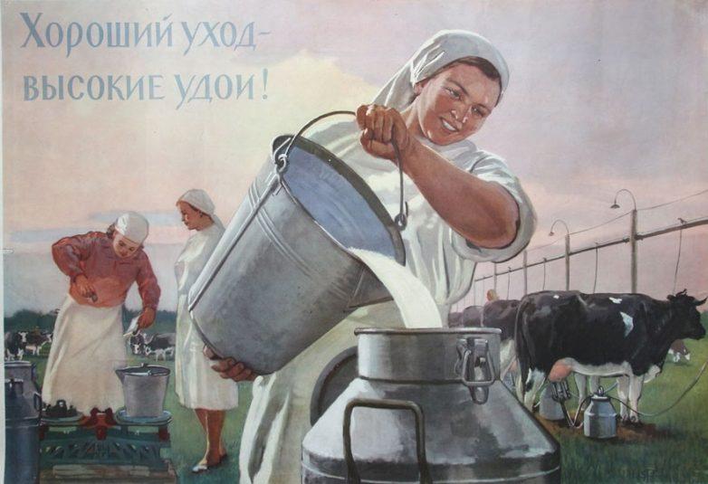 Эстафета по увеличению надоев в хозяйствах Нижегородской области